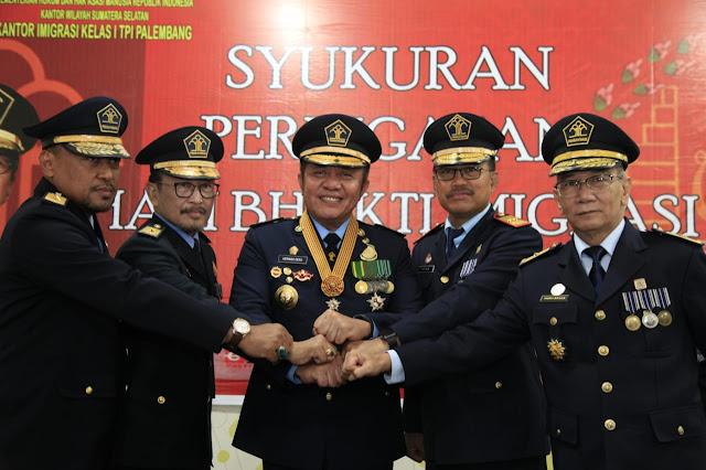 Cerminan Wajah Sumsel, Gubernur Dorong Imigrasi Tingkatkan Layanan