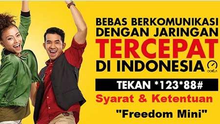 Cara Daftar Paket Internet Freedom Mini Indosat Ooredoo