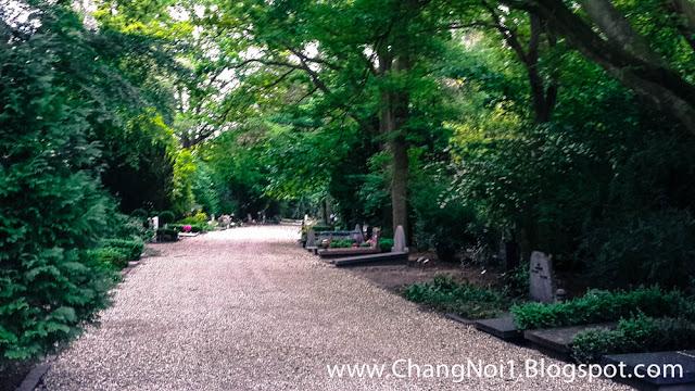 Public Cemetery in Crooswijk, Rotterdam - Netherlands