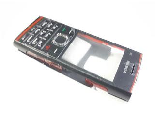 Casing Nokia X2-00 X200 X2 00 Housing Jadul New Murah