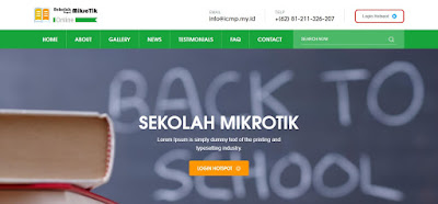 Template Hotspot MikroTik Sekolah