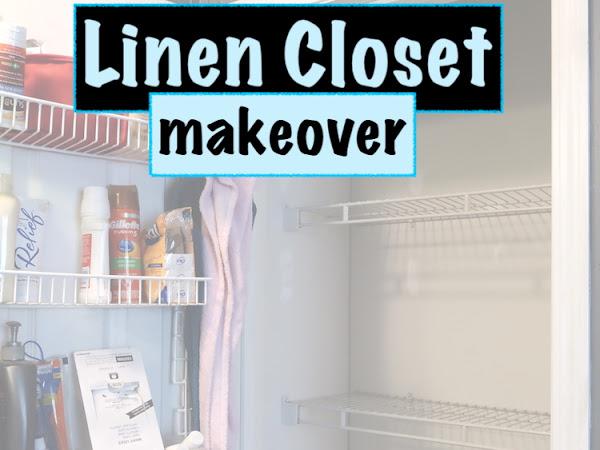 Linen Closet Organization Project