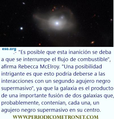 El misterio de un agujero negro, podría estar en peligro.