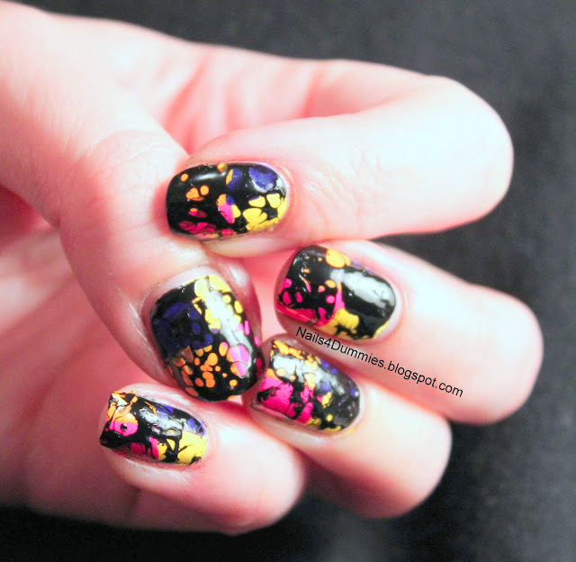 Waterspotted Nails