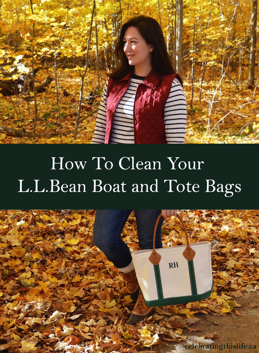 How To Clean Your L.L.Bean Boat and Tote Bags
