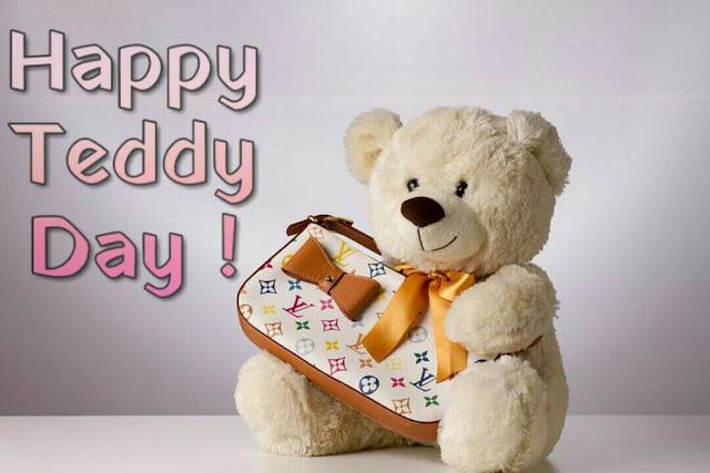 teddy day gif