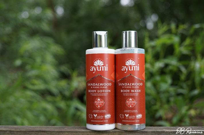 Ayumi Sandalwood and Ylang ylang range