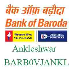 Vijaya Baroda Bank M S M E‐Ankleshwar Branch New IFSC, MICR