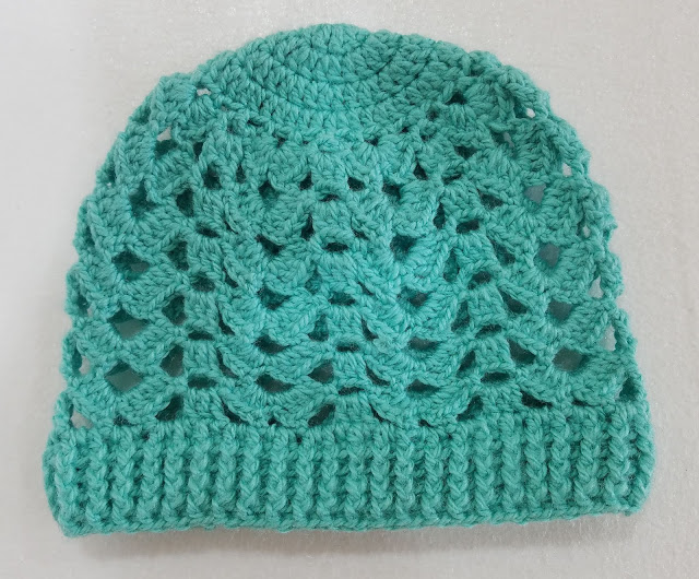 free crochet brooke beanie pattern