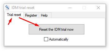 Cập nhật IDM 6.32 build 6 [10-2-2019] - Auto reset sử dụng tron đời