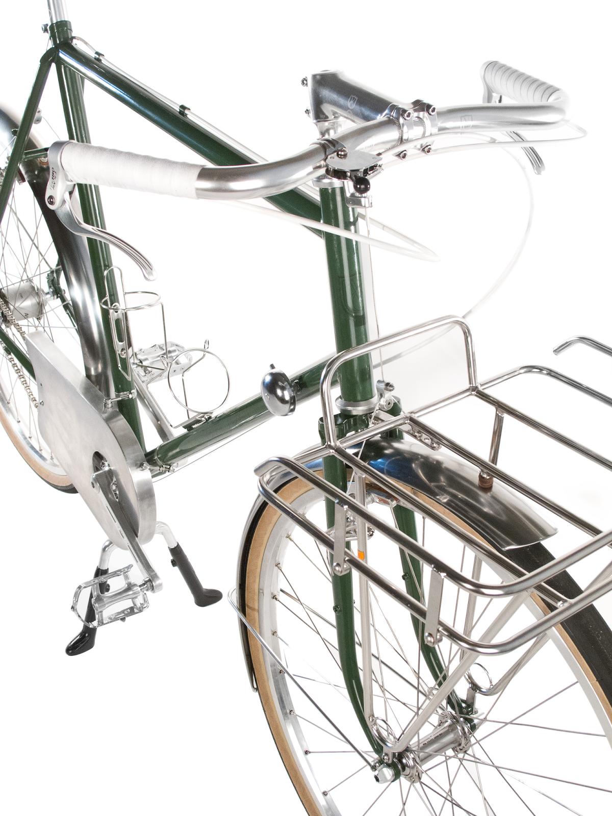 handlebar bike upright flat porteur compe dia selection velo orange shifter frame building bar boss brake