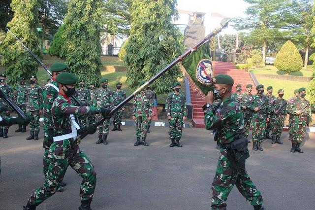 "Wakil Komandan Batalyon Arhanud 1/PBC/1 Kostrad Beri Apresiasi  ""Prajurit Rajawali"" Di Tangsel"