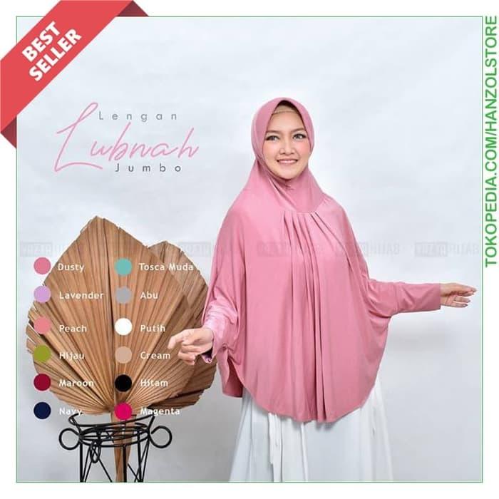 Jilbab Kerudung Syari Lengan Panjang Premium Terbaru