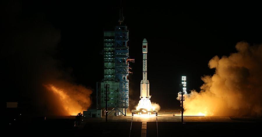 Tiangong-2, lancio perfetto per la piccola stazione spaziale di test Cinese
