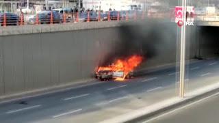 حادث مرور كارثي في ديار بكر التركية (فيديو)