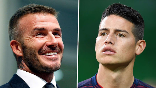 James Rodriguez Dilirik David Beckham