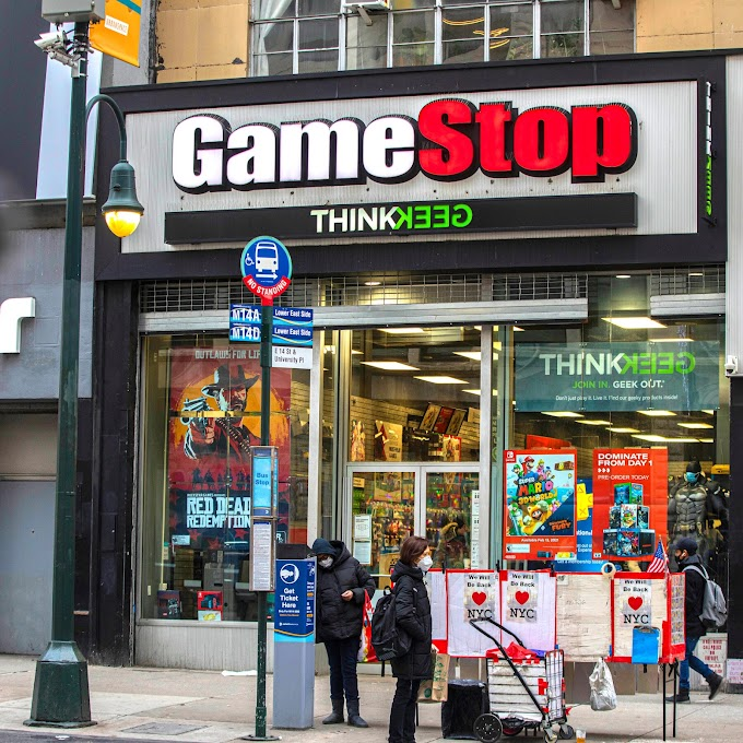Gme stock - Another Game Stop stock ready to fired