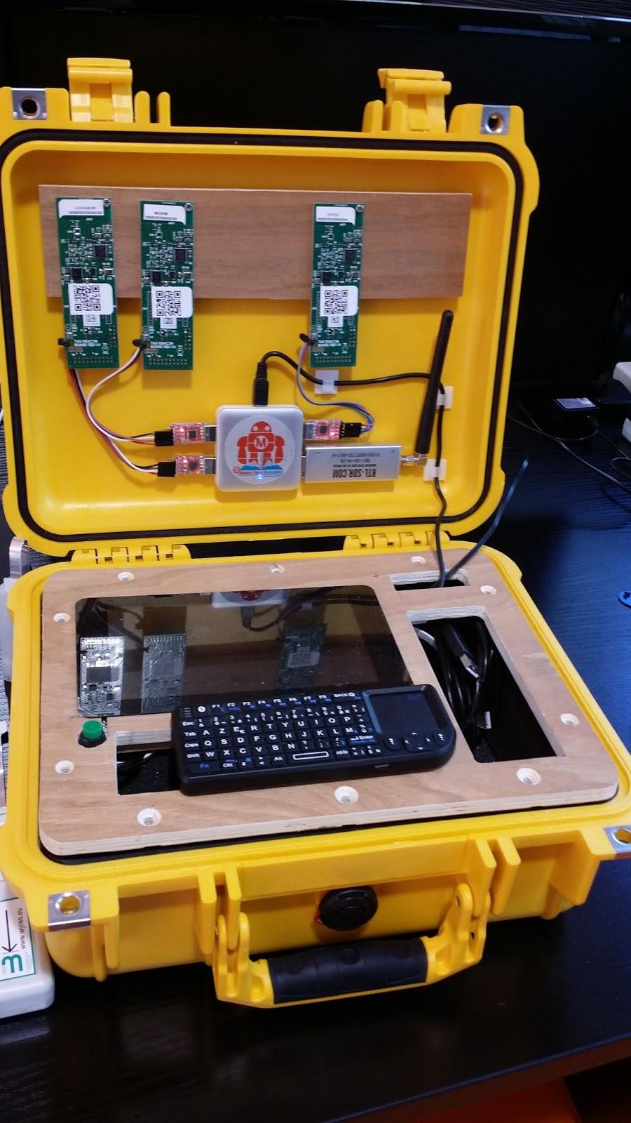 Wyres Tech blog: ISM band 868MHz / LoRaWAN Radio Tester