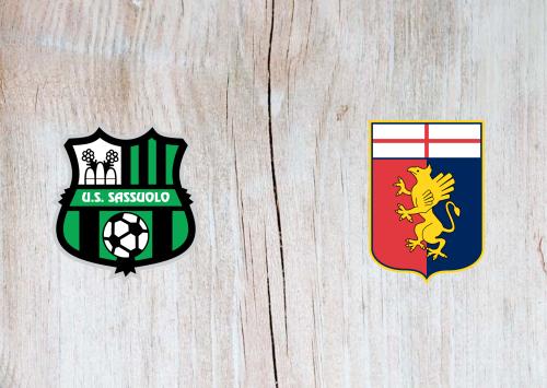 Sassuolo vs Genoa -Highlights 06 January 2021