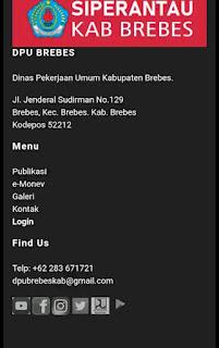 Aplikasi Siperantau Brebes