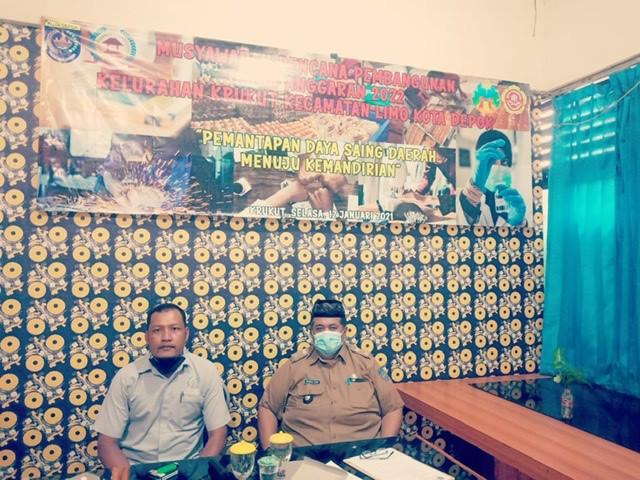 Pembangunan Fisik Mendominasi Musrenbang Kelurahan Krukut