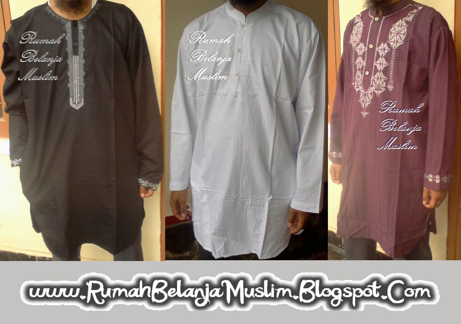 Baju Koko Pakistan Untuk Pria Muslim Syarii Busana Model