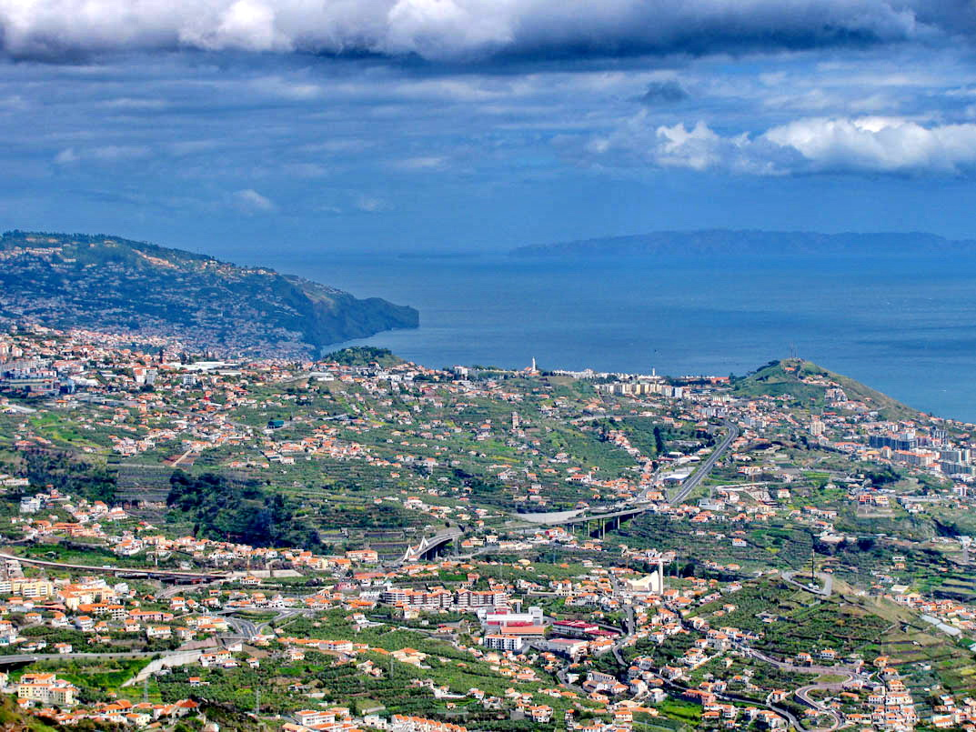 Funchal from west