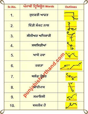 14-june-2020-punjabi-shorthand-outlines