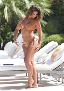 Rebekah Vardy  in Bikini CELEBRITY.CO Exclusive Celebrity Pics 006
