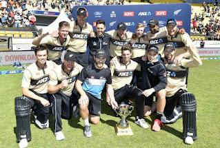 Australia tour of New Zealand 5-Match T20I Series 2021