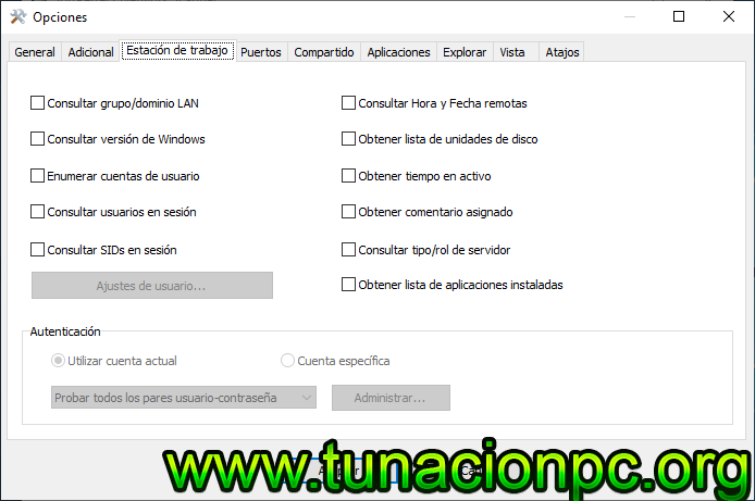 SoftPerfect Network Scanner Full Español