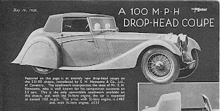 SS 100 DHC from 16 May 1939 Motor magazine