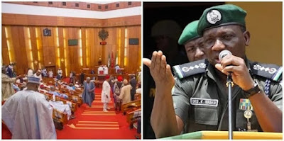 Senate Takes Action Against IGP For Failing To Appear
