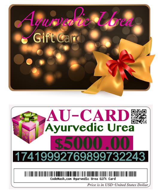 gift cards ayurvedic urea gift certificates