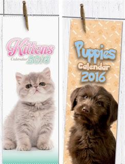 Puppy & Kitten Calendars