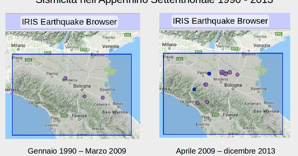 La storia sismica dell'Appennino centrale e settentrionale: impossibile esprimere certezze sul futuro