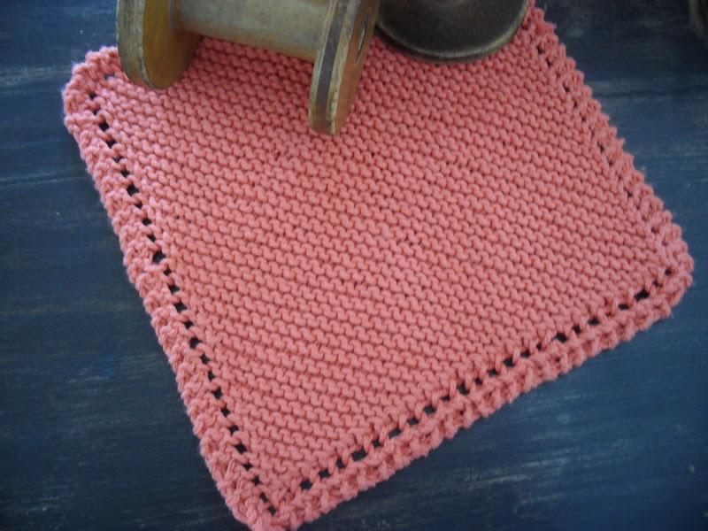Home Frosting: Knitted Dishcloths and a Giveaway