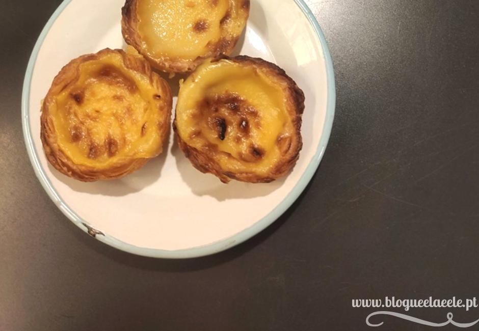 Os melhores pastéis de nata + vegan + pastelaria batalha + empadas vegan + comida vegan lisboeta + blogue português de casal + blogue ela e ele + ele e ela + pedro e telma