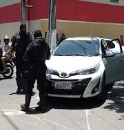 Policiais da Rocan prende flanelinha suspeito de está furtando um veículo no Centro de Parnaíba