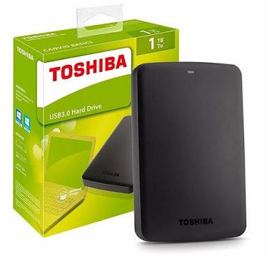 """Външен хард диск Toshiba Canvio Basics 1TB, 2.5"""", USB 3.0"""