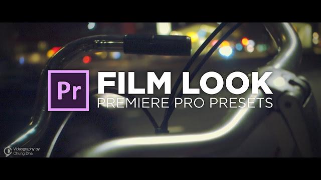 Adobe Premiere Pro 50 color presets