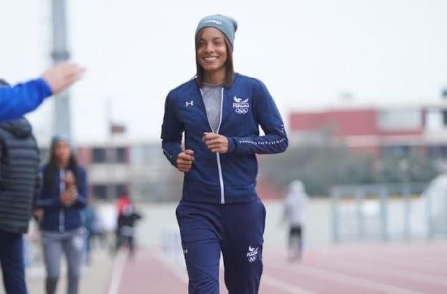 Nathalee Aranda cumpriu no salto em distância dos Jogos Olímpicos, mas não conseguiu se classificar