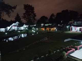 hotel malam hari