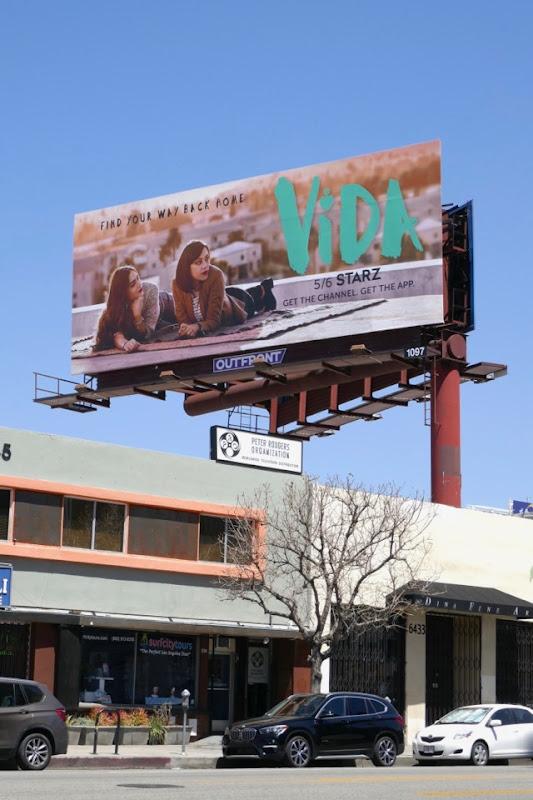 Vida Starz billboard