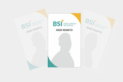 Download Template Id Card BSI Format CDR X7