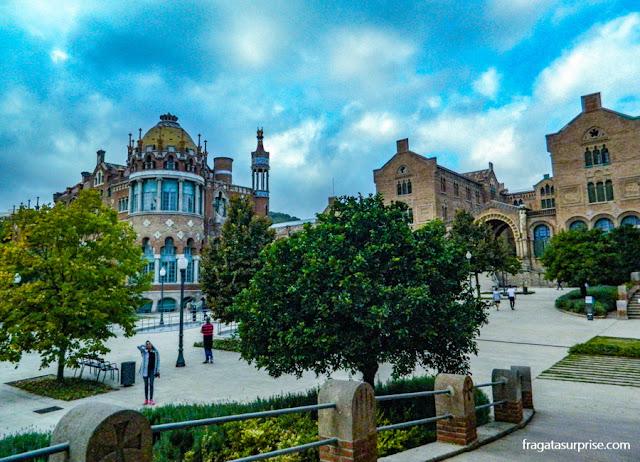 Jardins do Hospital de la Santa Creu i Sant Pau, Barcelona