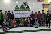 BAZNAS Sidrap Berikan Sosialisasi Pemahaman tentang Zakat di Masjid Nurul Marhama kerjasama dengan KKL dan Dema STAI DDI Sidrap