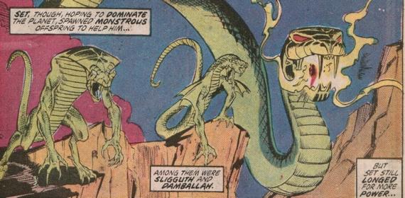 Mengenal Damballah, Dewa Ular dari Marvel Comics