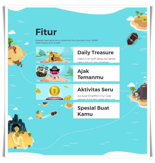 Smartfren REJEKI WOW Treasure Hunt