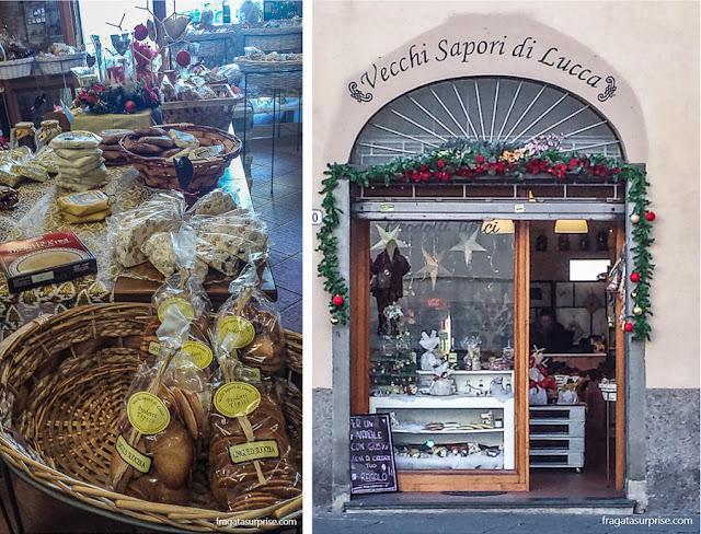 Casa de doces típicos toscanos Vecchi Sapori di Lucca